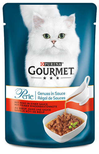 Purina Gourmet Perle Gravy Delight with Beef 85 g