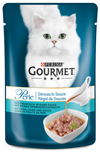 Purina Gourmet Perle Gravy Delight with Tuna 85 g