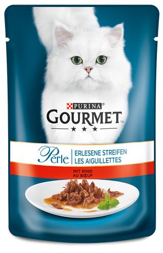 Purina Gourmet Perle Mini Fillets with Beef 85 g order cheap