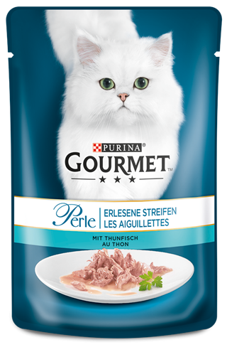 Purina Gourmet Perle Mini Fillets with Tuna 85 g buy online
