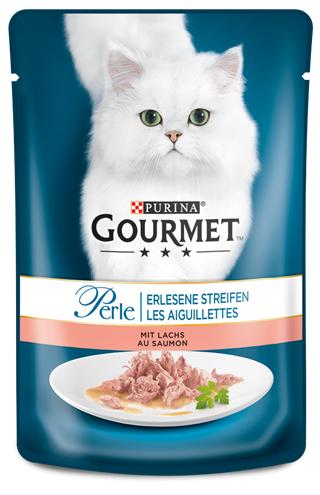 Purina Gourmet Perle Mini Fillets with Salmon 85 g