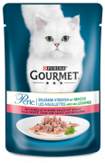 Purina Gourmet Perle Mini Fillets in Gravy with Trout and Spinach Art.-Nr.: 7649