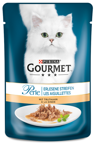 Purina Gourmet Perle Mini Fillets in Gravy with Turkey 85 g order cheap