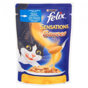 Felix Sensations Sauces Pollock with Tomatoes 100 g