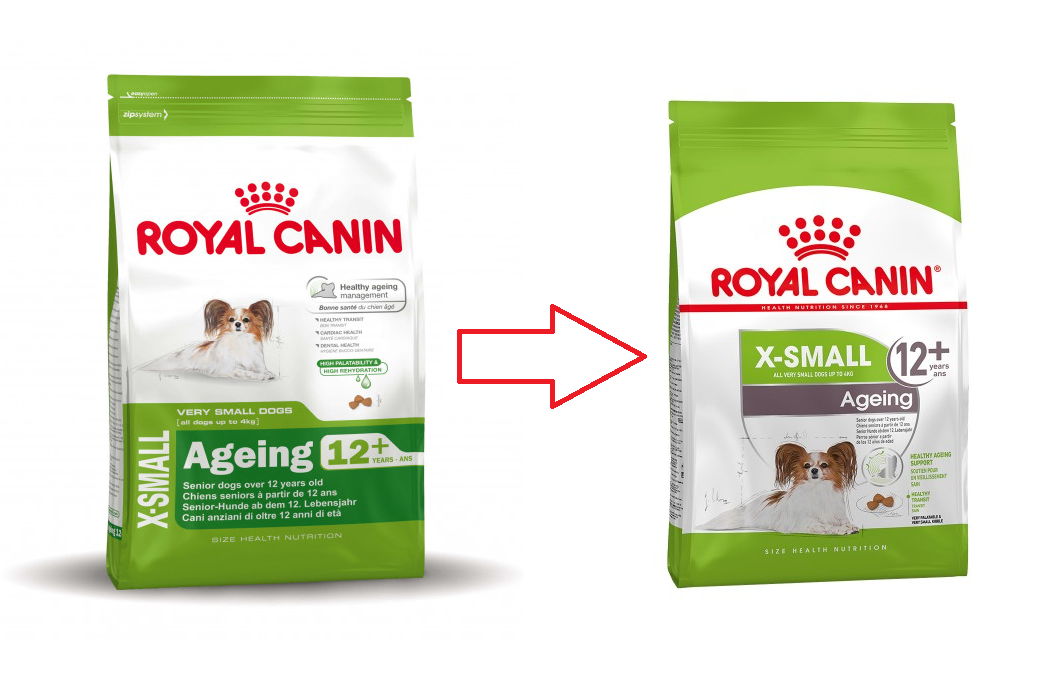 Royal Canin Size Health Nutrition X-Small Ageing 12+ 500 g, 1.5 kg