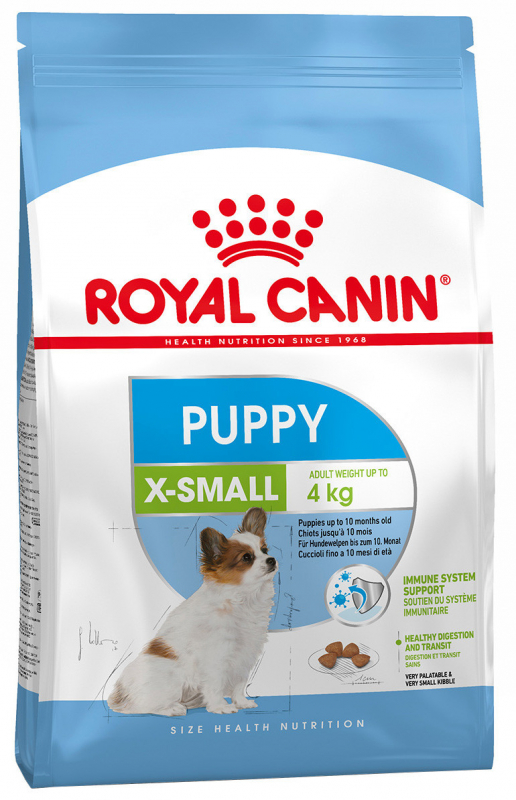 Royal Canin Size Health Nutrition X-Small Puppy 1.5 kg 3182550793612