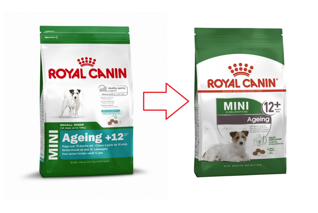 Royal Canin Size Health Nutrition Mini Ageing 12+ 800 g, 3.5 kg, 1.5 kg