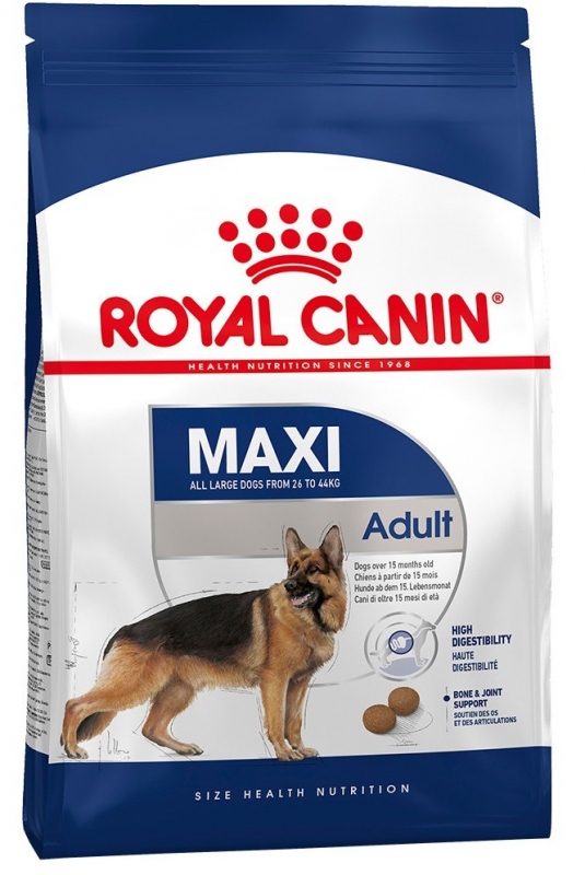 Royal Canin Size Health Nutrition Maxi Adult 4 kg 3182550402224 erfaringer