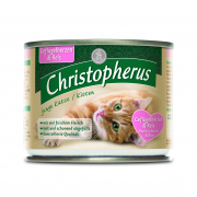 Christopherus Junior/Kitten - Chicken Hearts & Rice Can 200 g