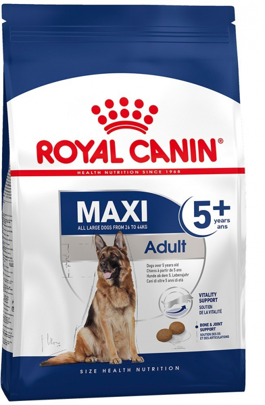 Royal Canin Size Health Nutrition Maxi Adult 5+ EAN: 3182550774604 reviews