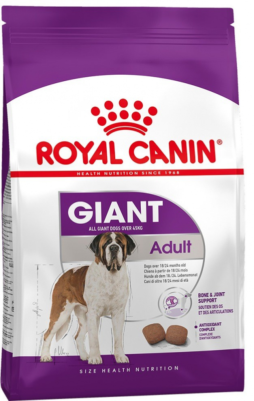 Royal Canin Size Health Nutrition Giant Adult 15 kg 3182550703079 erfaringer