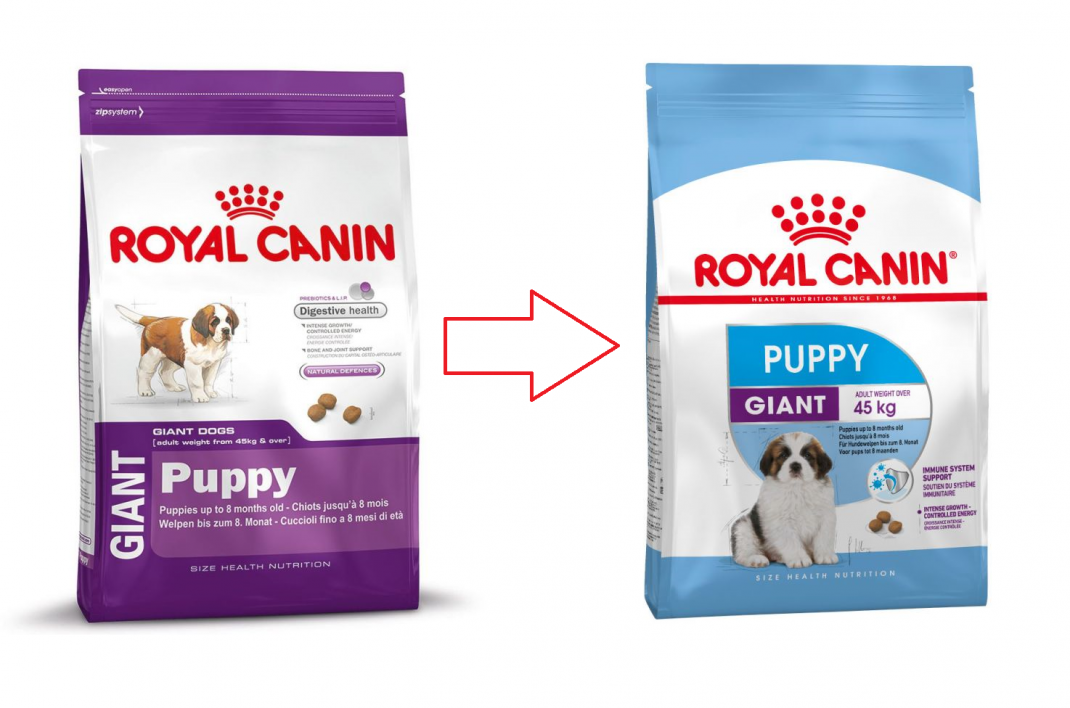 Royal Canin Size Health Nutrition Giant Puppy 4 kg, 15 kg test