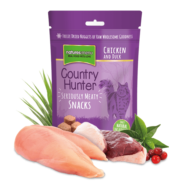 Natures Menu Country Hunter Snack Pollo y Pato 40 g prueba