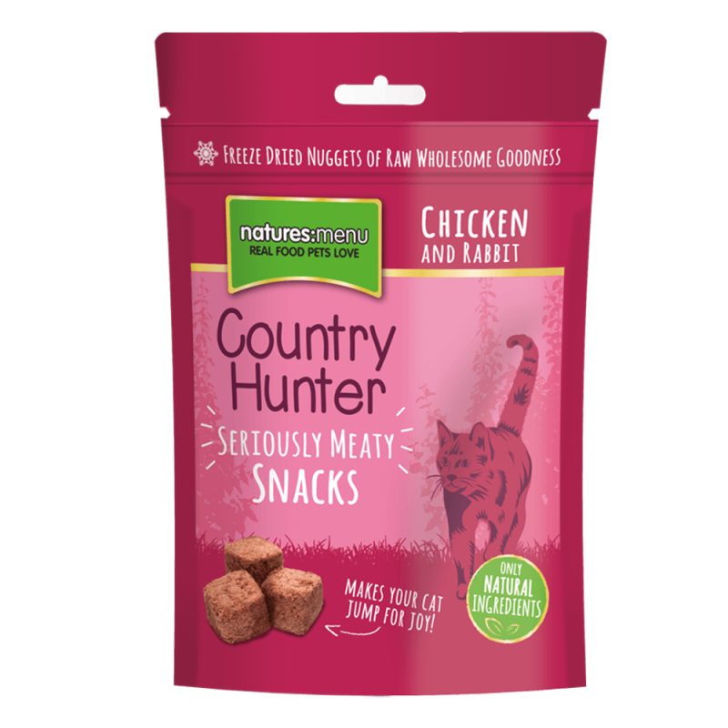 Natures Menu Country Hunter Snack Pollo y Conejo 40 g