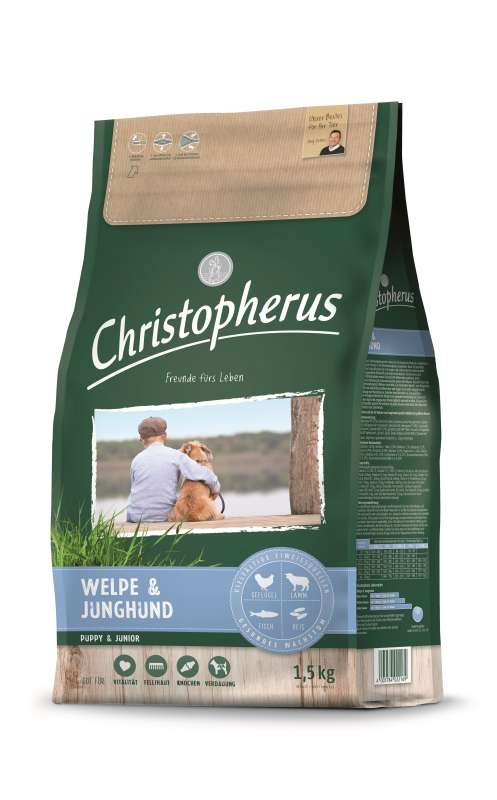 Christopherus Puppy & Junior 1.5 kg 4005784022169 opiniones