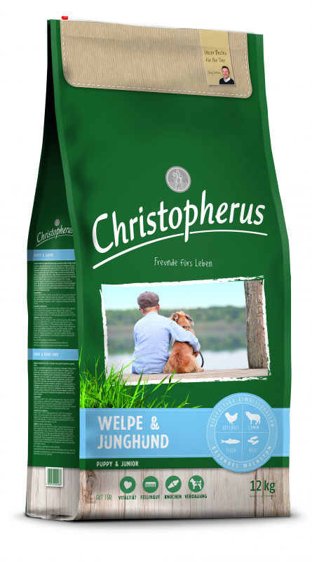 Christopherus Puppy & Junior 4 kg, 12 kg, 1.5 kg prueba