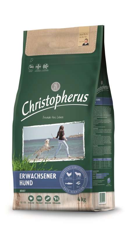 Christopherus Adult Dog - Poultry, Lamb, Eggs & Rice 4 kg
