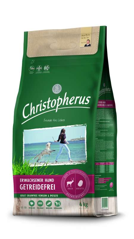 Christopherus Adult Dog Grainfree – Deer & Potatoes 4 kg
