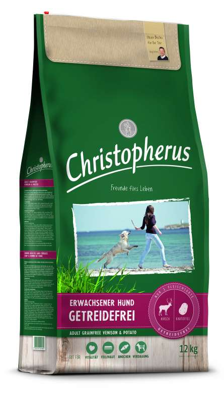 Christopherus Adult Dog Grainfree – Deer & Potatoes 12 kg 4005784022589 ervaringen