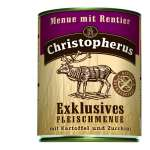 Christopherus Exclusive Meat Menu - Reindeer, Potato and Zucchini Can