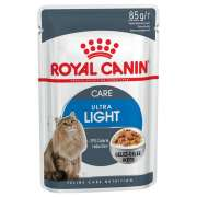 Royal Canin Feline Health Nutrition Ultra Light i Gelé 85 g