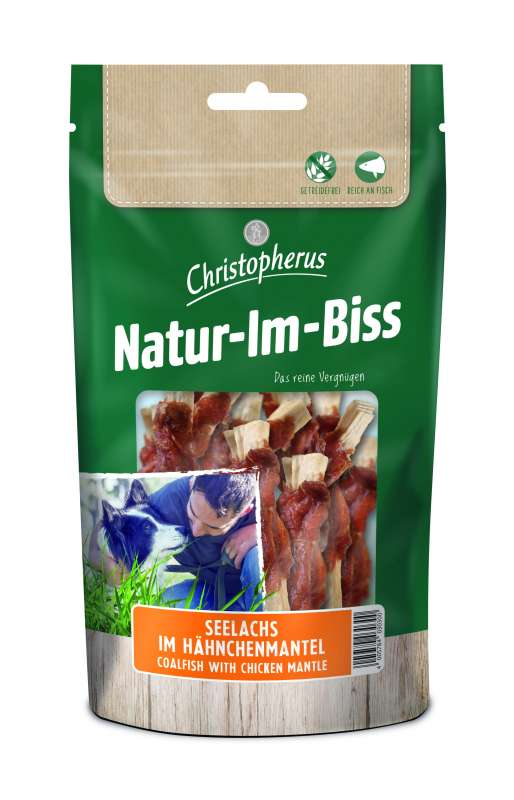 Christopherus Natur-Im-Biss - Chicken-Coated Pollock 70 g
