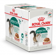 Feline Health Nutrition - Multipack Instinctive +7 in Soße 12x85 g von Royal Canin