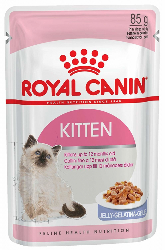 Royal Canin Feline Health Nutrition Kitten en Gelatina 85 g