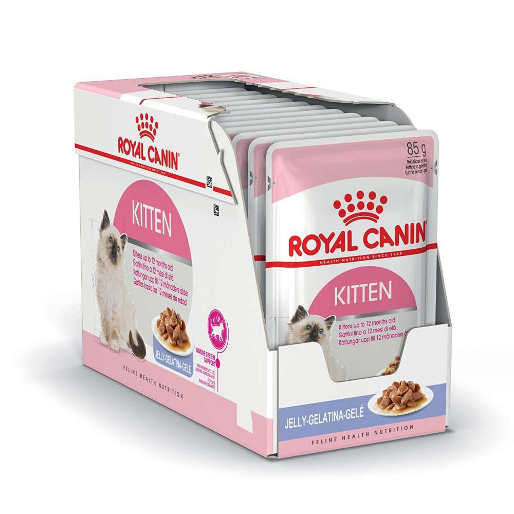 Royal Canin Feline Health Nutrition Multipack Kitten in Gelee 12x85 g kjøp billig med rabatt