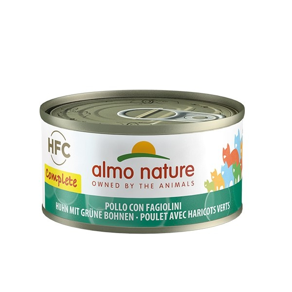 Almo Nature HFC Complete Chicken with Green Beans 8001154127263 kokemuksia