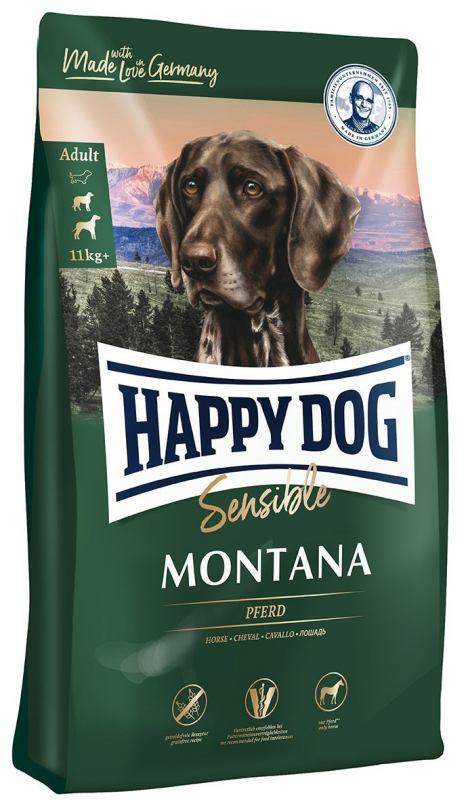 Happy Dog Supreme Sensible Montana mit Pferd 10 kg