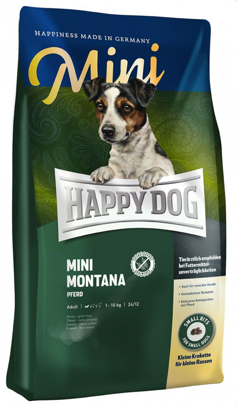 Happy Dog Supreme Mini Montana with Horse 1 kg