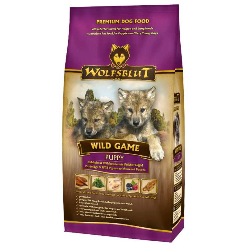 Wolfsblut Wild Game Puppy 500 g 4260262766816