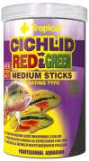 Cichlid Red & Green Medium Sticks 90 g