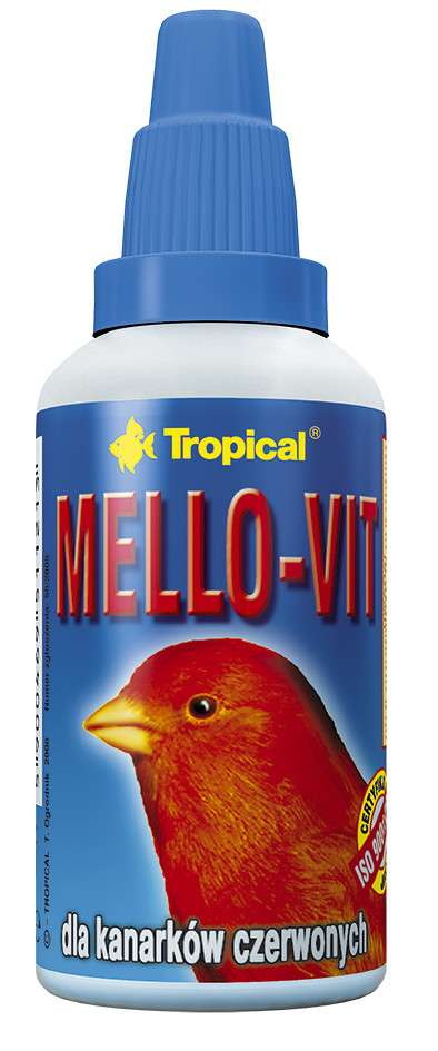 Tropical Mello-Vit for red Canaries 30 ml con uno sconto