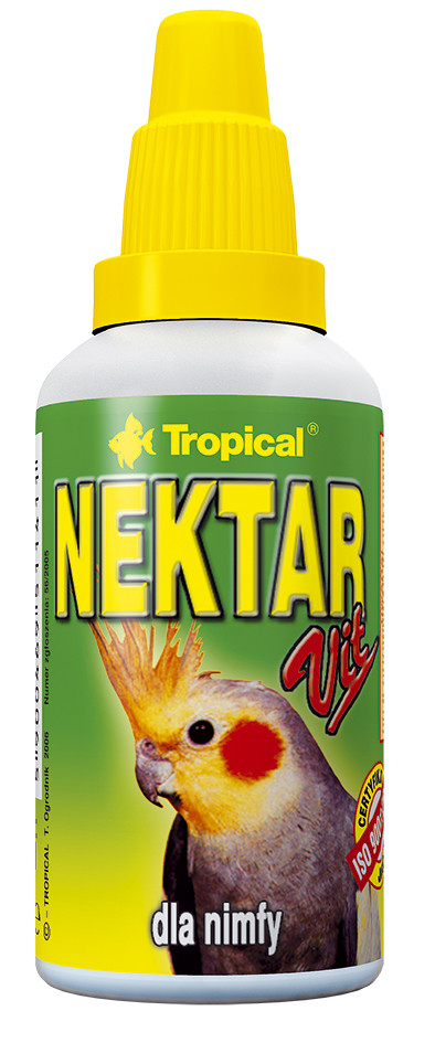 Tropical Nektar-Vit for Cockatiels 30 ml kjøp billig med rabatt