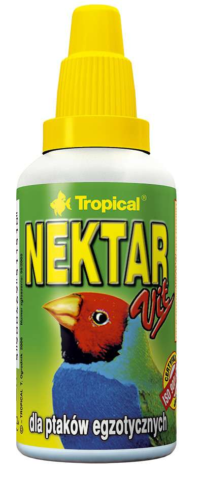 Tropical Nektar-Vit for exotic Birds 30 ml kjøp billig med rabatt