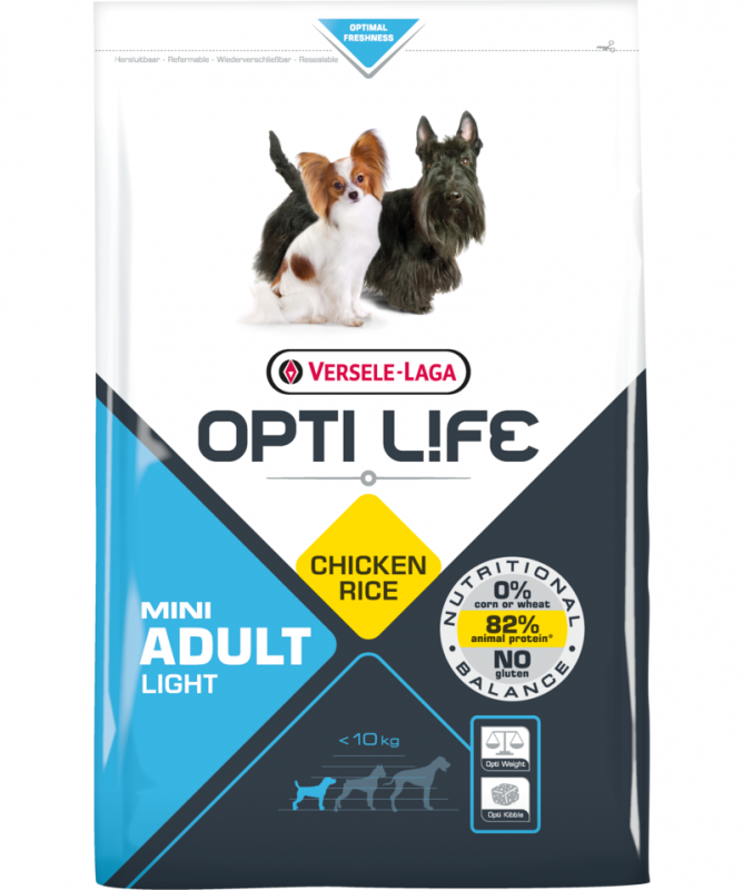 Opti Life Adult Light Mini with Chicken 7.5 kg 5410340311387 opiniones