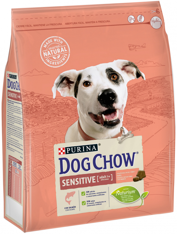 Purina Dog Chow Sensitive Adult con Salmón 2.5 kg 7613034488268 opiniones