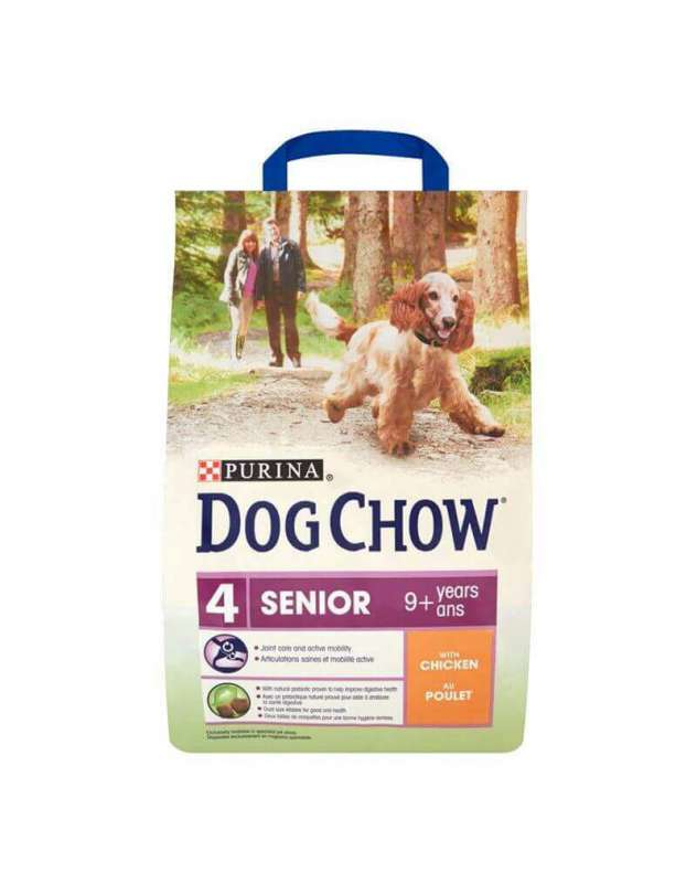 Purina Dog Chow Senior con Pollo 14 kg, 2.5 kg