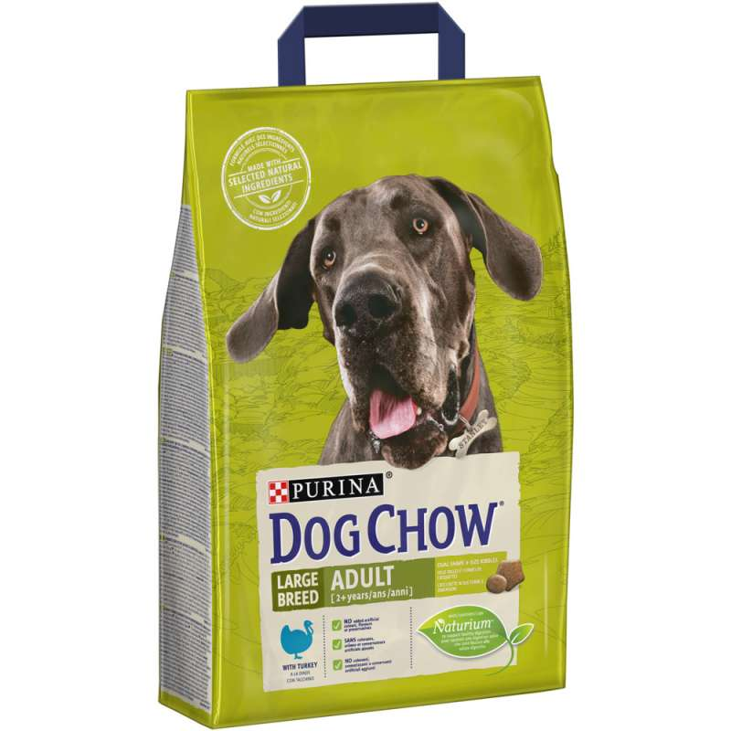 Purina Dog Chow Large Breed Adult con Pavo 2.5 kg 7613034487865 opiniones