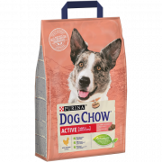 Purina Tonus Dog Chow Active con Pollo 2.5 kg