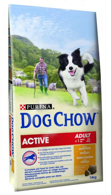 Purina Dog Chow Active con Pollo 2.5 kg, 14 kg