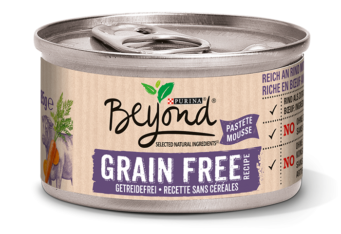 Purina Beyond grain-free rich in Beef with Carrots 85 g 7613036266369