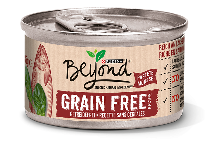 Purina Beyond grain-free rich in Salmon with Spinach 85 g