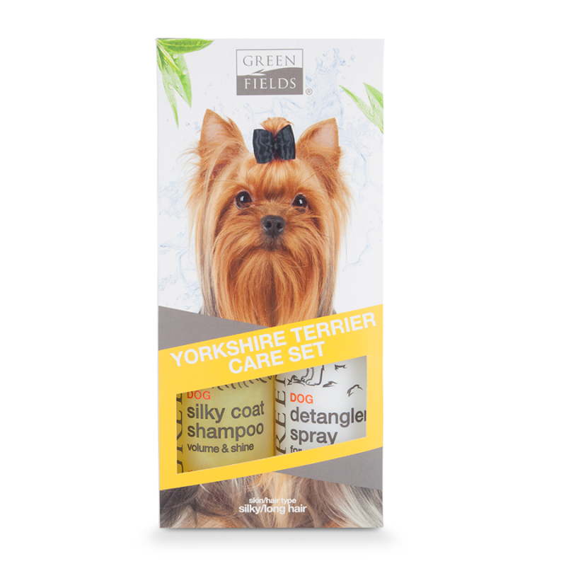 Greenfields Yorkshire Terrier Care Set 2x250 ml 8718836723384 opiniones