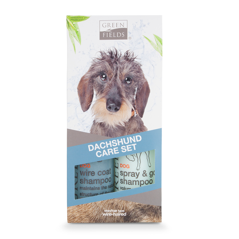 Greenfields Dachshund Care Set 2x250 ml 8718836723377