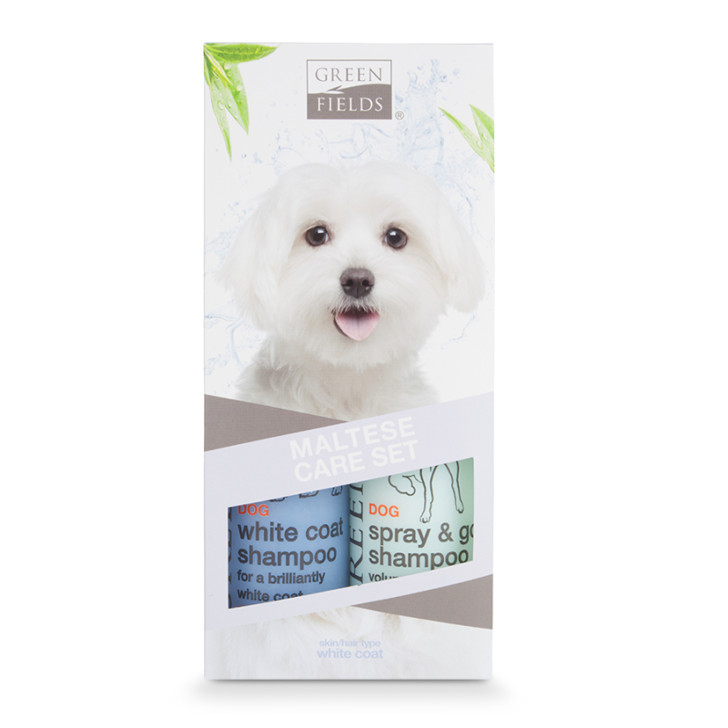 Greenfields Maltese Care Set 2x250 ml 8718836723339 ervaringen