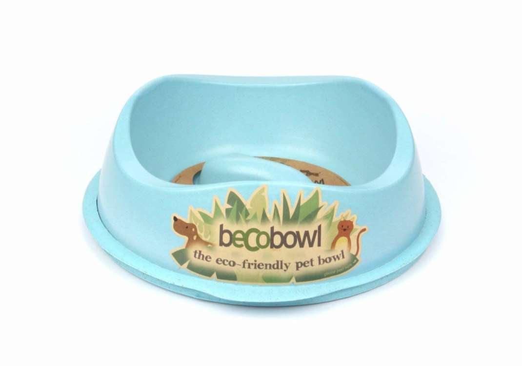 BeCo Pets Slow Feed Bowl Hellblau 1.25 l