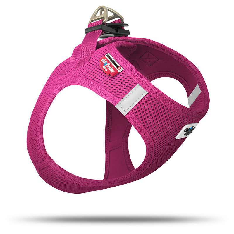 Curli Vest Harness Air-Mesh  Fuksia M